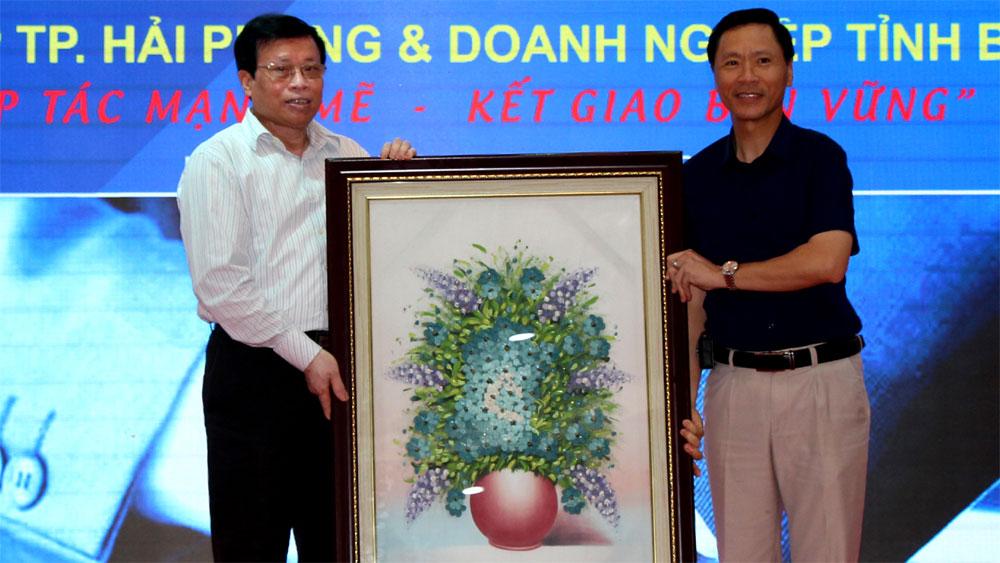 Kết nối doanh nghiệp Bắc Giang - Hải Phòng
