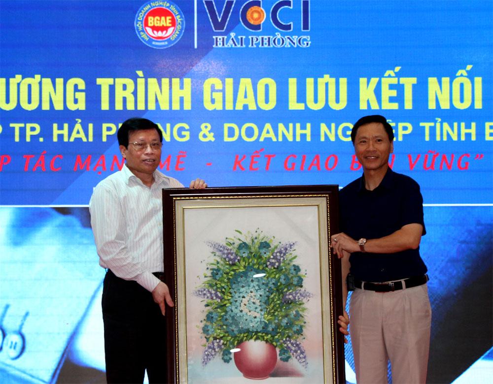Kết nối doanh nghiệp, Bắc Giang, Hải Phòng, Hiệp hội Doanh nghiệp, giao lưu kết nối, TP Hải Phòng, Sở Kế hoạch-Đầu