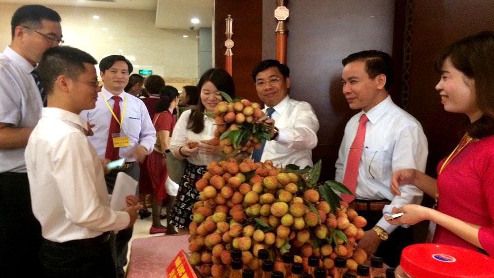 Vải thiều Bắc Giang hút khách tại Trung Quốc