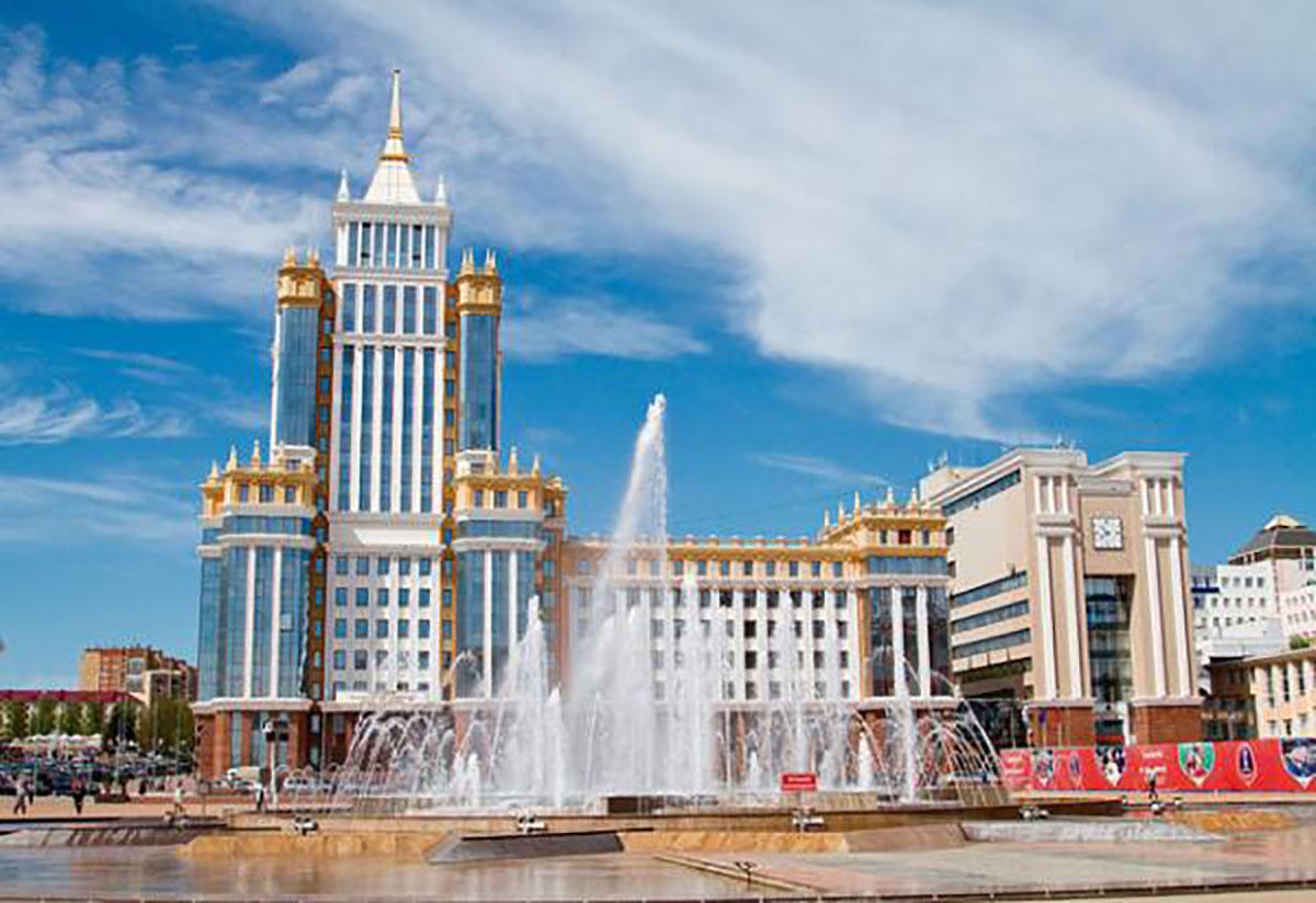 Vẻ đẹp, nước Nga, 11 thành phố, đăng cai World Cup 2018