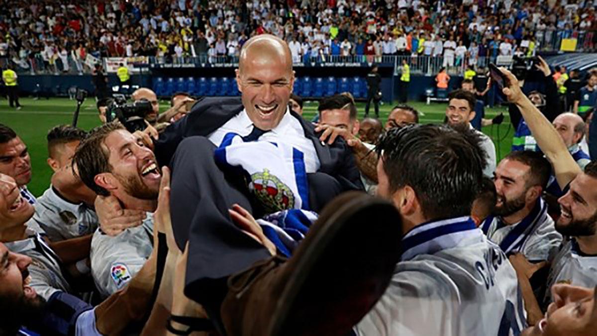 Zidane chia tay Real, tình chỉ đẹp khi còn dang dở