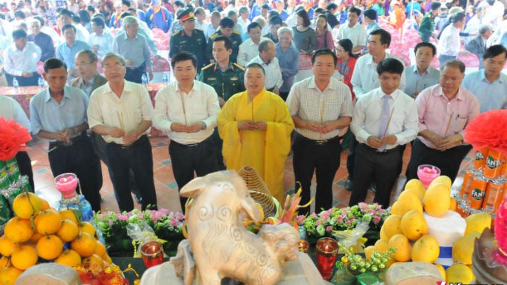 Đền Khánh Vân, thị trấn Chũ, Lục Ngạn, Trần Hưng Đạo