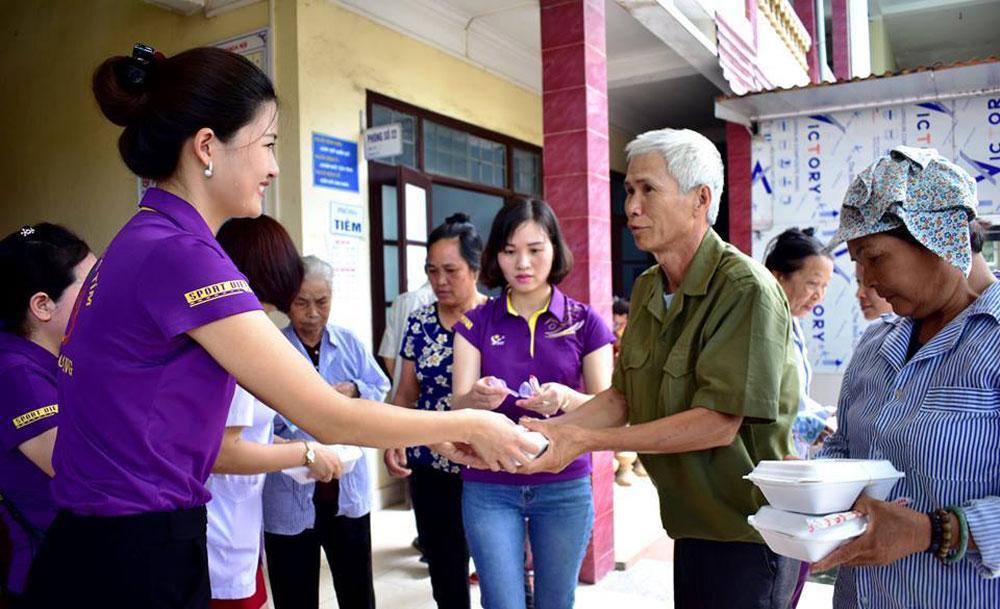 CLB Bông hồng tím, Hội chữ thập đỏ tỉnh Bắc Giang