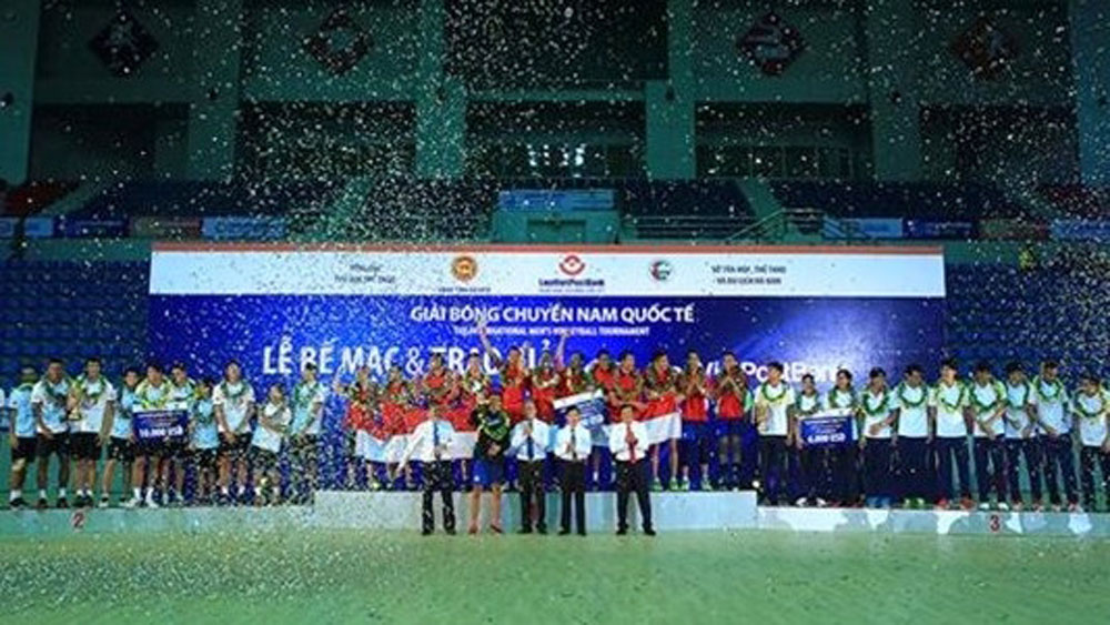 Vietnam wins bronze medal at international volleyball tourney