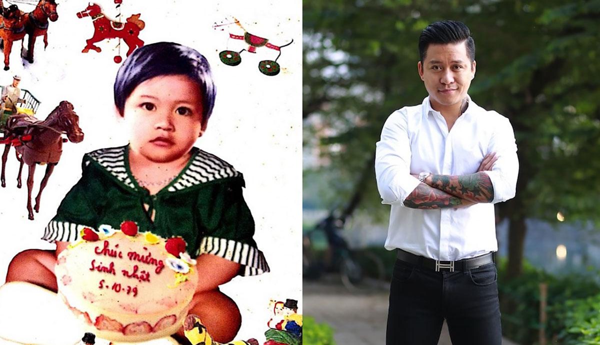 Nhìn lại loạt ảnh 'khi xưa ta bé' cực đáng yêu của dàn sao Việt