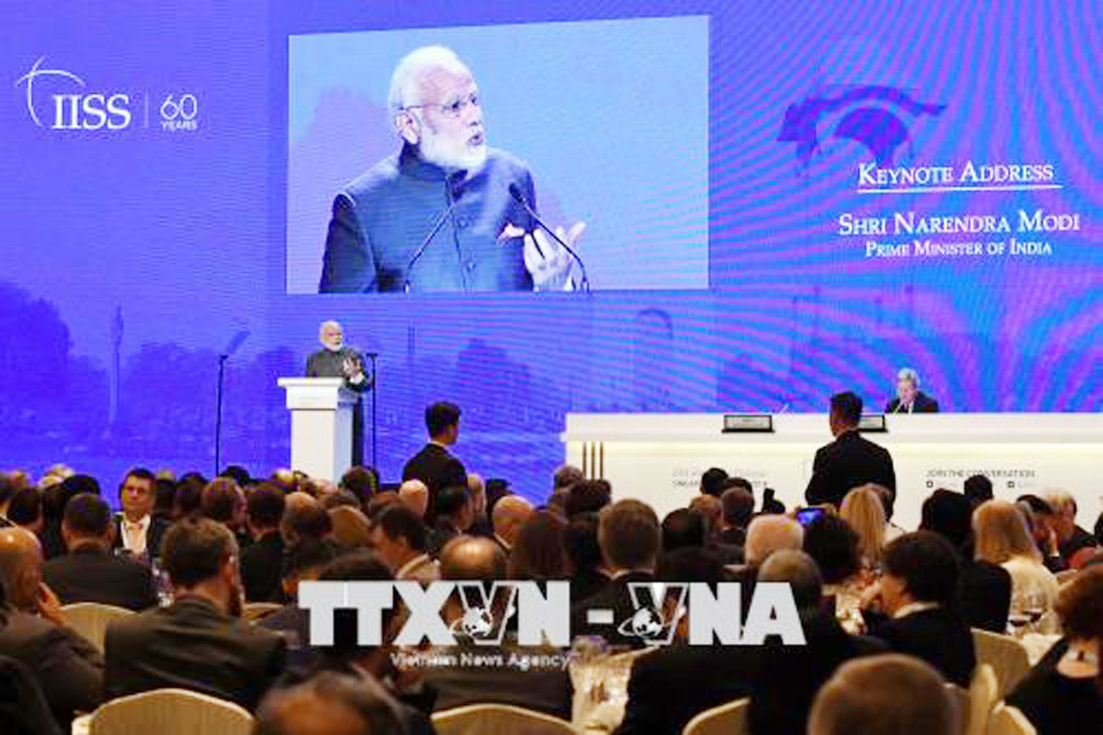 Shangri-La Dialogue, 2018, 17th event,  important security forum, Asia – Pacific,  senior defense officials, Vietnamese delegation, counter-terrorism, regional security co-operation