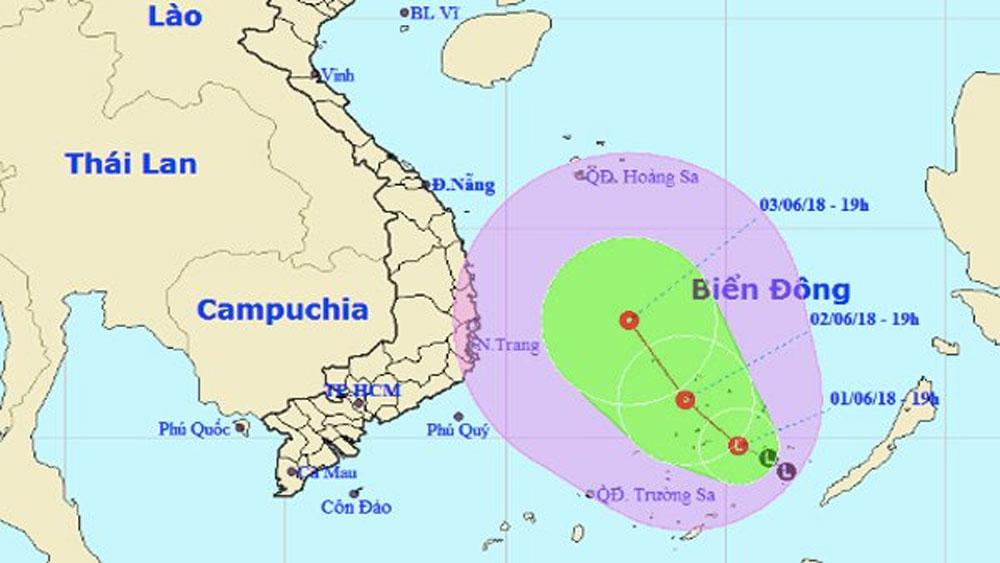 Biển Đông nguy cơ hứng áp thấp nhiệt đới