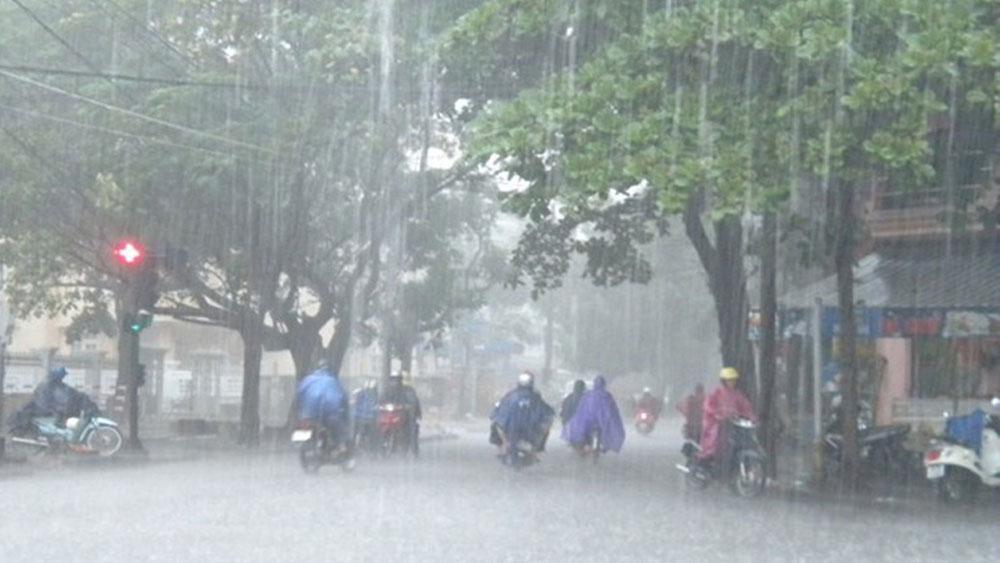 Vùng áp thấp trên khu vực quần đảo Trường Sa đã mạnh lên thành áp thấp nhiệt đới