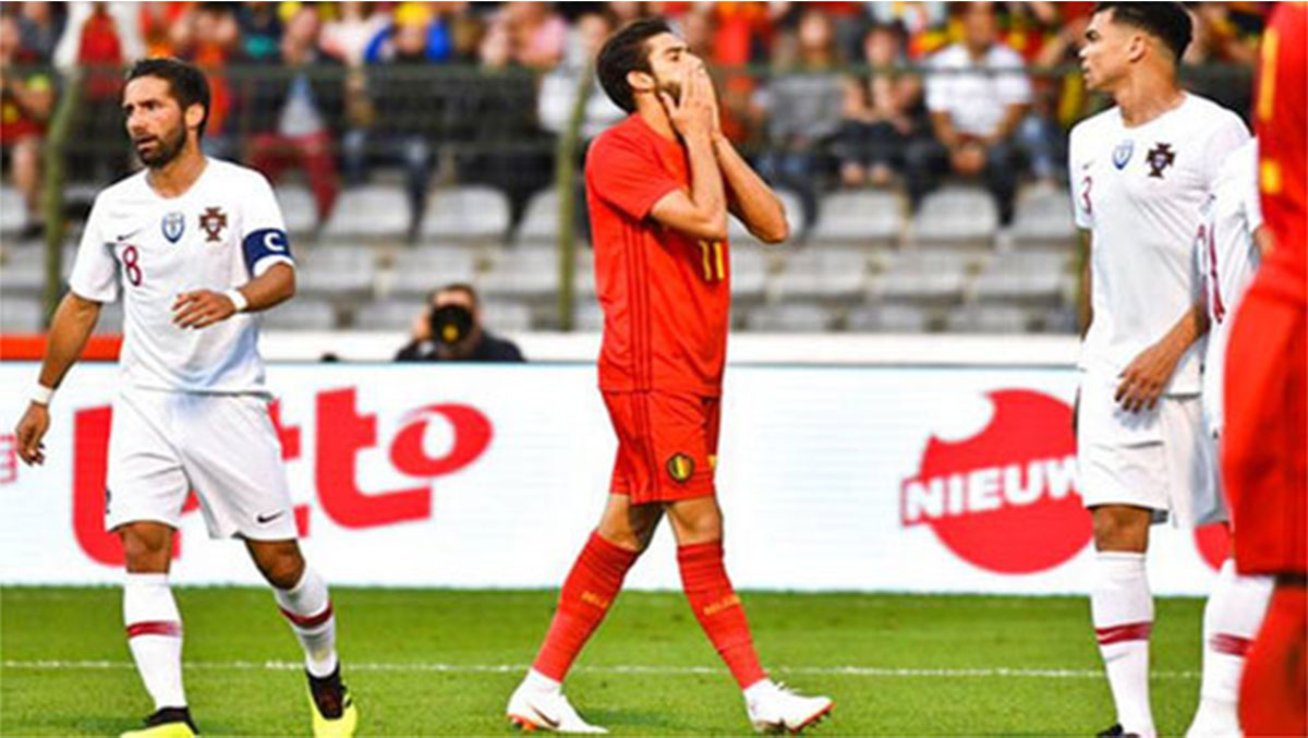 Bồ Đào Nha hòa Bỉ dù vắng Ronaldo