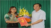 Đồng chí Nguyễn Thị Mạnh Hiền giữ chức Trưởng Đài truyền thanh huyện Hiệp Hòa