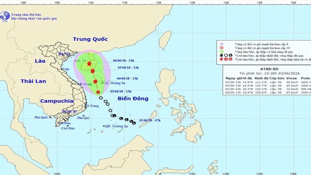 Nguy cơ hình thành bão số 2 quét dọc các tỉnh ven biển, khẩn cấp yêu cầu ứng phó
