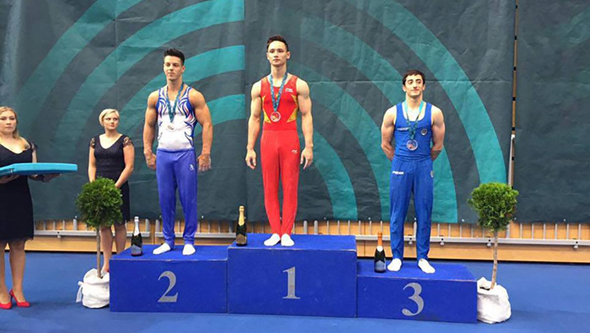 Thể dục dụng cụ, Việt Nam, World Cup, huy chương vàng