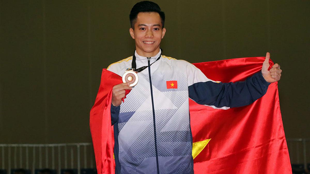 Thể dục dụng cụ Việt Nam lần đầu tiên đoạt 2 HCV tại World Cup