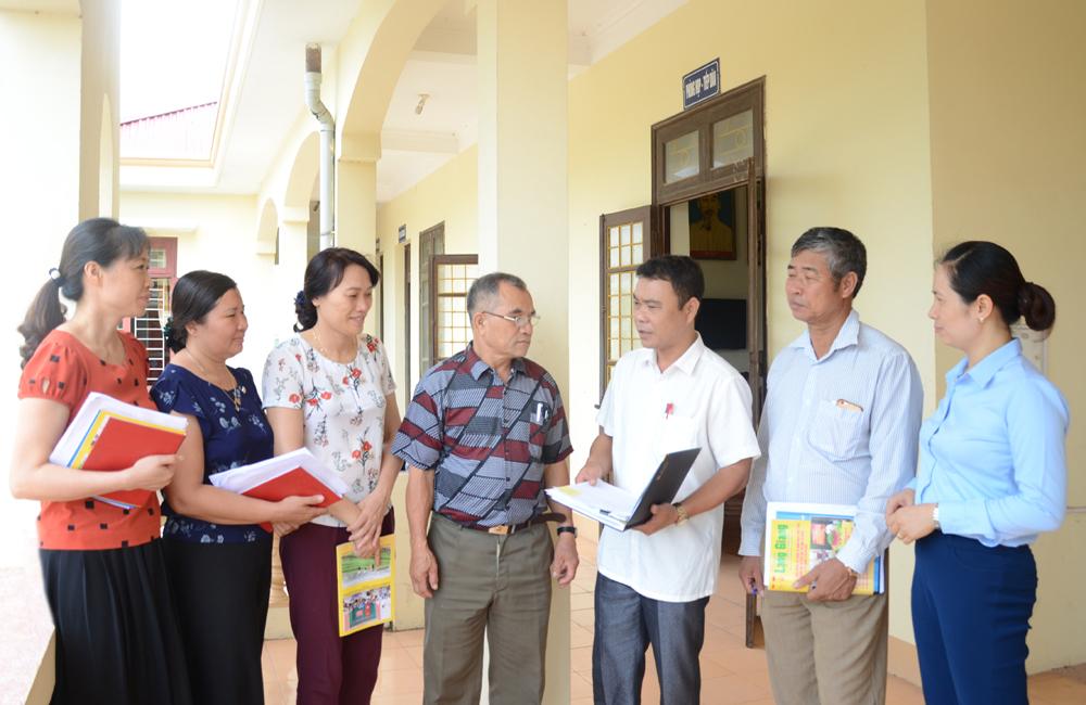 Lạng Giang, Bắc Giang, kỷ luật Đảng,  kiểm tra, giám sát