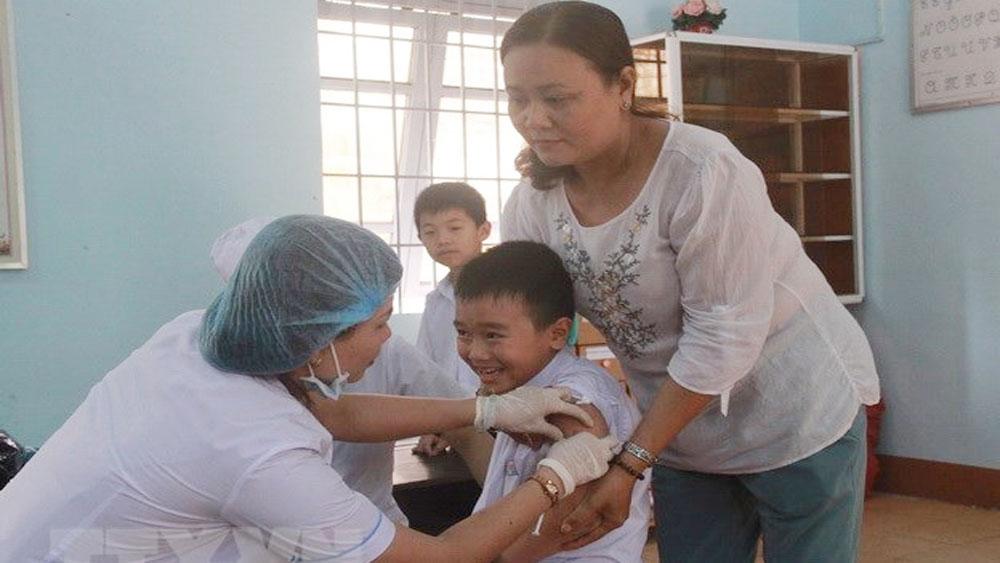 Tiêm chủng, đầy đủ, phòng viêm não Nhật Bản, trẻ em