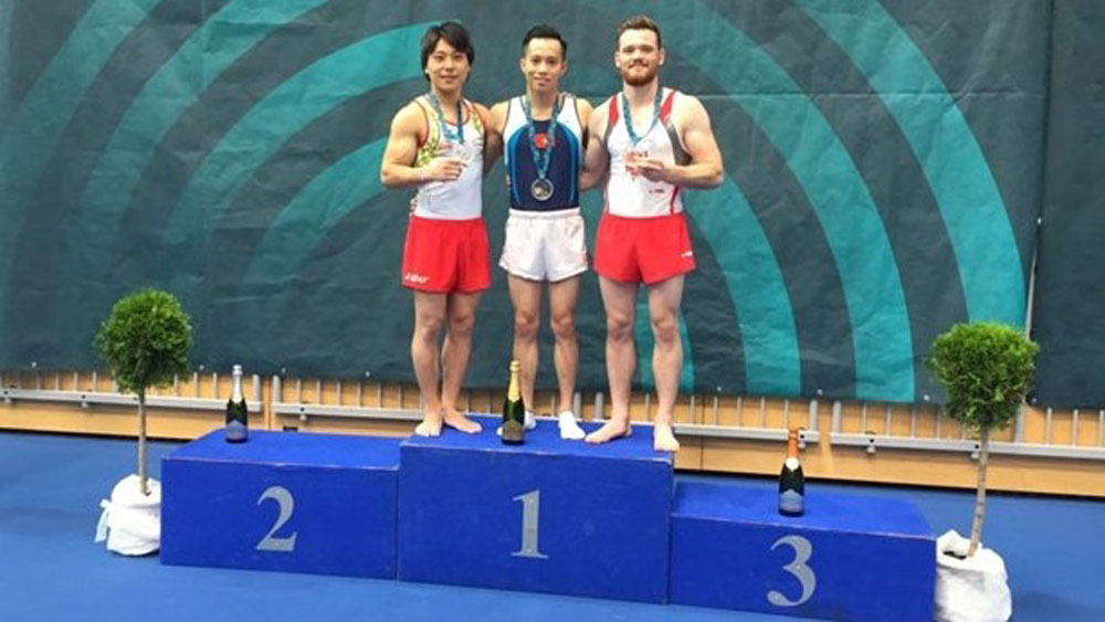 Vietnam wins golds at world gymnastics champs in Slovenia