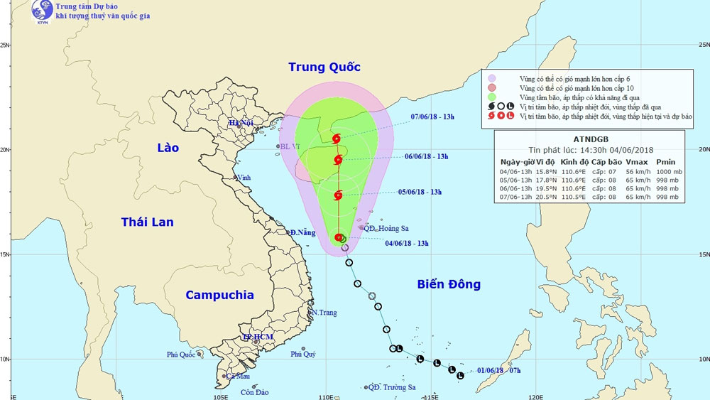 Vietnam on alert for tropical depression