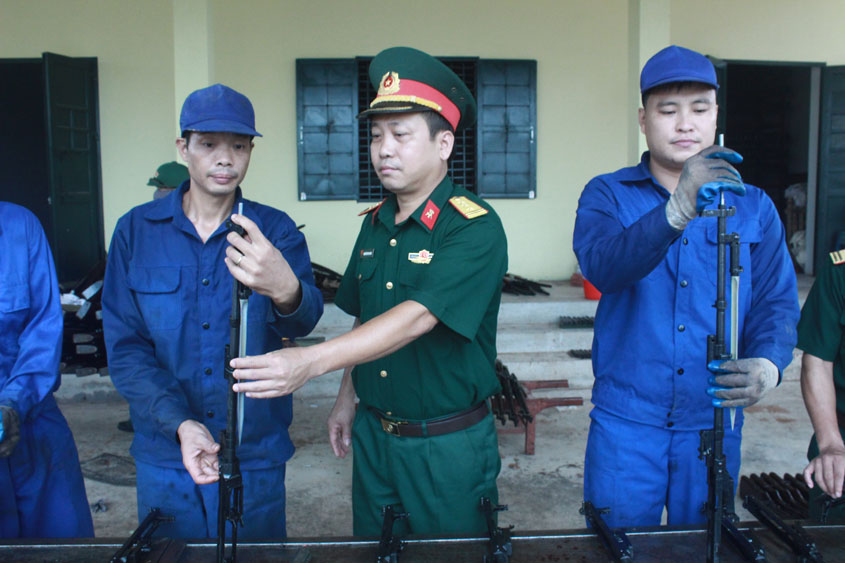 Lực lượng vũ trang tỉnh Bắc Giang: Kịp thời khắc phục điểm yếu