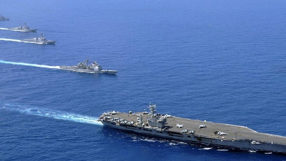 Tuyên bố chung Mỹ-Nhật-Úc chống hành động đơn phương ở Biển Đông
