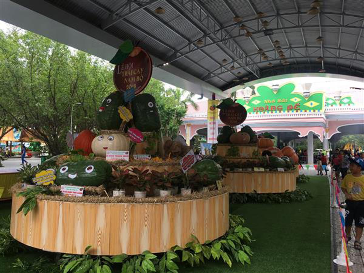 củ quả, khích thước, hình dáng  lễ hội trái cây, Nam Bộ