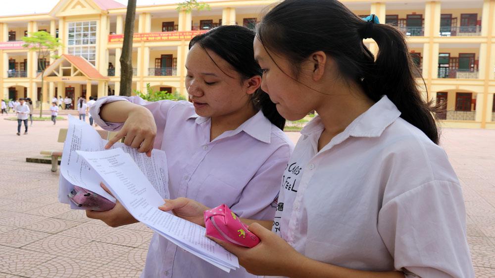thi, lớp 10, ngữ văn, Bắc Giang