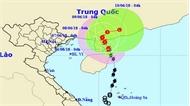 Bão số 2 giật cấp 10 gây mưa dông, lốc xoáy ở vùng biển Quảng Trị-Quảng Ngãi