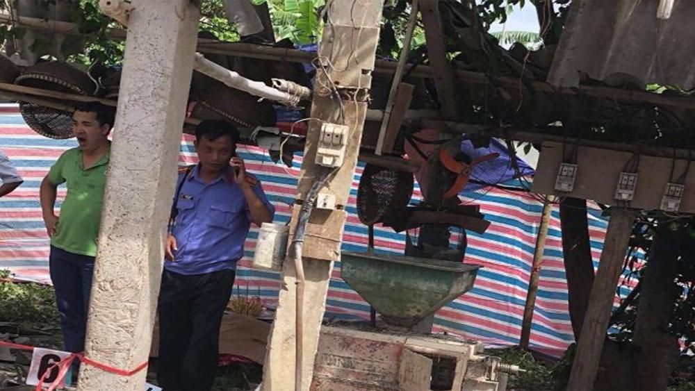 Tuyên Quang: Máy xay xát bất ngờ nổ tung, chủ nhà và khách thiệt mạng