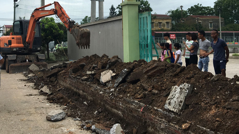 Việt Yên: Yêu cầu tạm dừng hoạt động Trung tâm Dịch vụ văn hóa thể thao của Công ty Diêm Công Đạt do tranh chấp