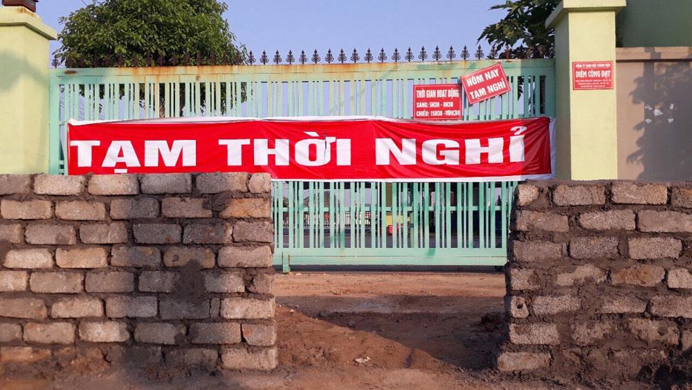 Lãnh đạo huyện Việt Yên chỉ đạo: Giải quyết dứt điểm vụ việc ở xã Bích Sơn