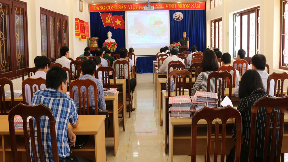 Bac Giang announces adjustment of land usage plan by 2020