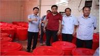 Phó Chủ tịch UBND tỉnh Lê Ánh Dương giám sát ATTP tại Hiệp Hòa