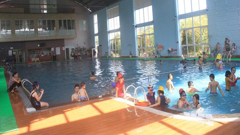 Bể bơi, đuối nước, an toàn, Bắc Giang