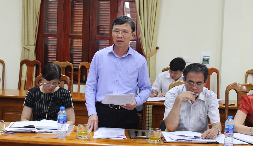 Bùi Văn Hạnh, Phó Chủ tịch Thường trực HĐND tỉnh, tỉnh Bắc Giang, khu đô thị, khu dân cư, thu ngân sách