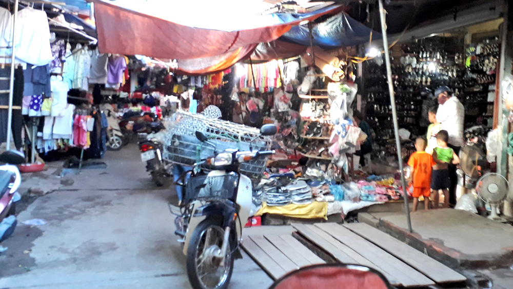 Hài hòa lợi ích khi cải tạo chợ Mọc (Tân Yên)