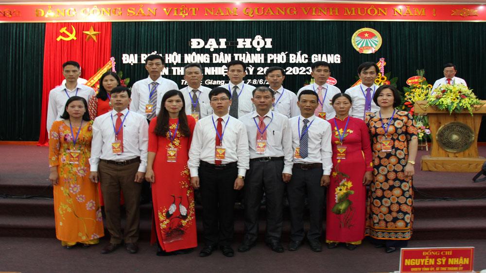 Đại hội Đại biểu Hội Nông dân TP Bắc Giang