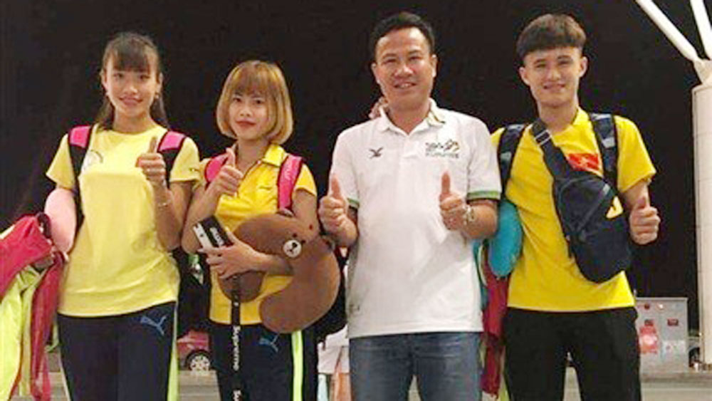 Vietnams win first gold in 2018 Asian Indoor Athletics Champs
