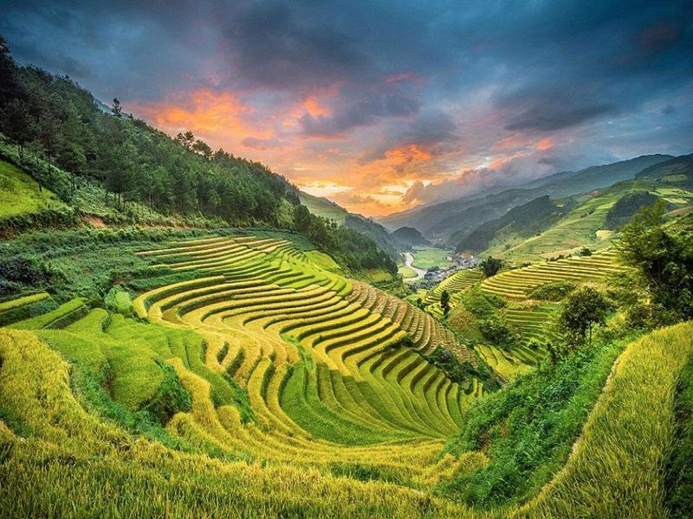 nơi trốn nóng, giữa mùa hè, Việt Nam