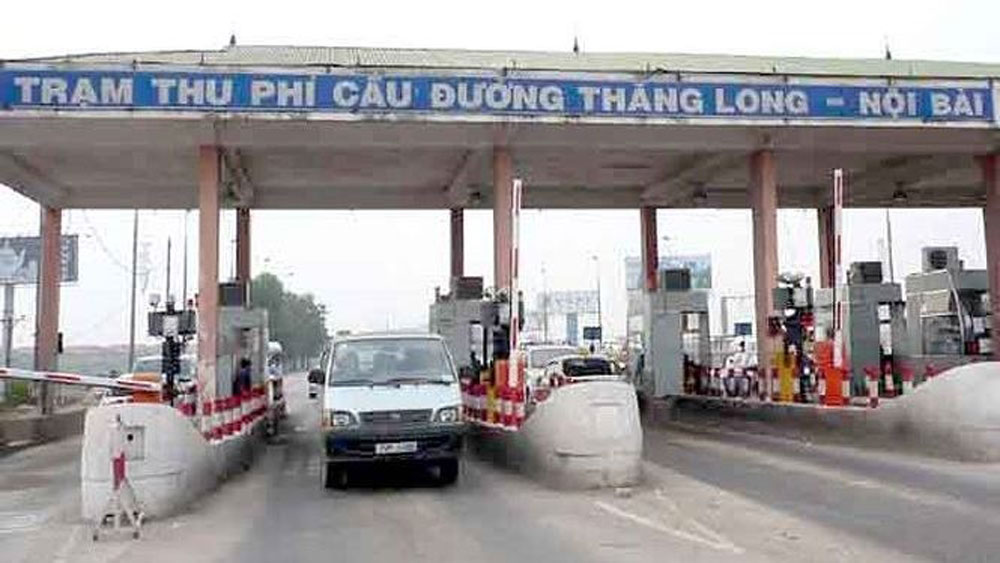Hanoi, northern Thang Long, Noi Bai, toll station, investment capital,  BOT project,   National Highway 2, payback period