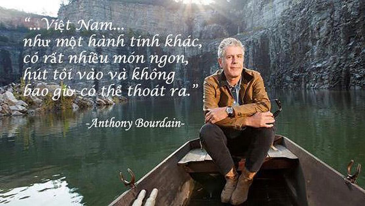 Những quán ăn Việt ghi dấu chân Anthony Bourdain, người đầu bếp đưa ẩm thực Việt ra thế giới