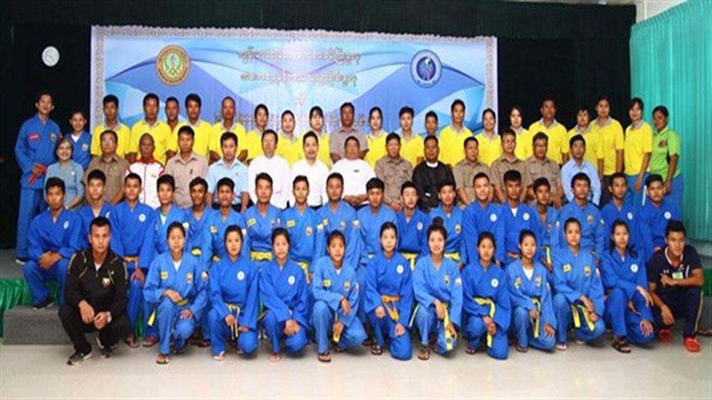 Myanmar introduces vovinam in six national sport academies