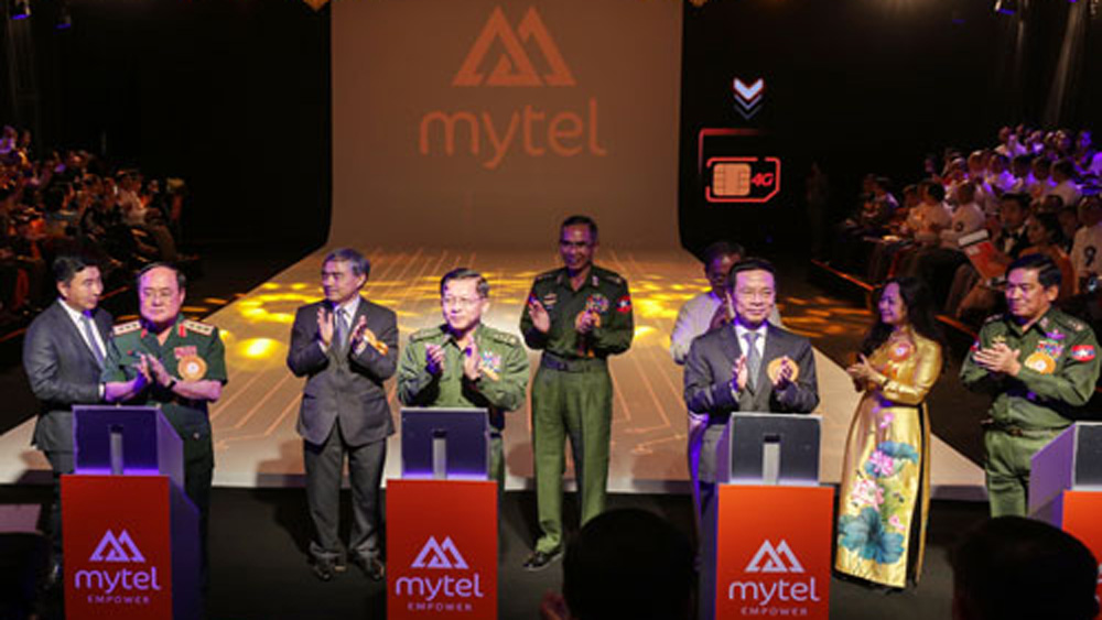 Viettel khai trương mạng di động Mytel tại Myanmar
