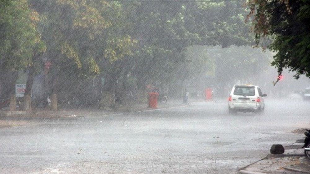 Cả nước nhiều khu vực mưa rào và dông, Hà Nội cảnh báo thiên tai cấp 1