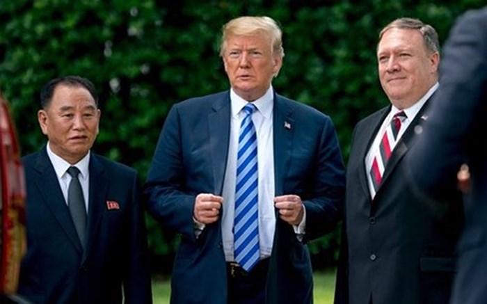 Triều tiên, Singapore, Đảo Sentosa, Kim Yong-chol, Lý Hiển Long, Mỹ, Donald Trump