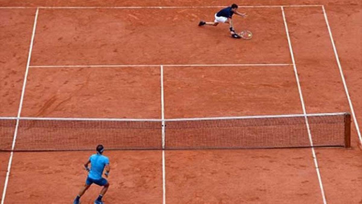 Rafael Nadal, Giải quần vợt pháp mở rộng, Roland Garros 2018, Dominic Thiem