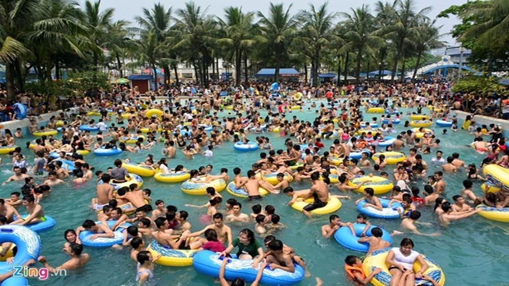 Virus cúm A/H1N1 có thể sống 4 ngày trong nước hồ bơi