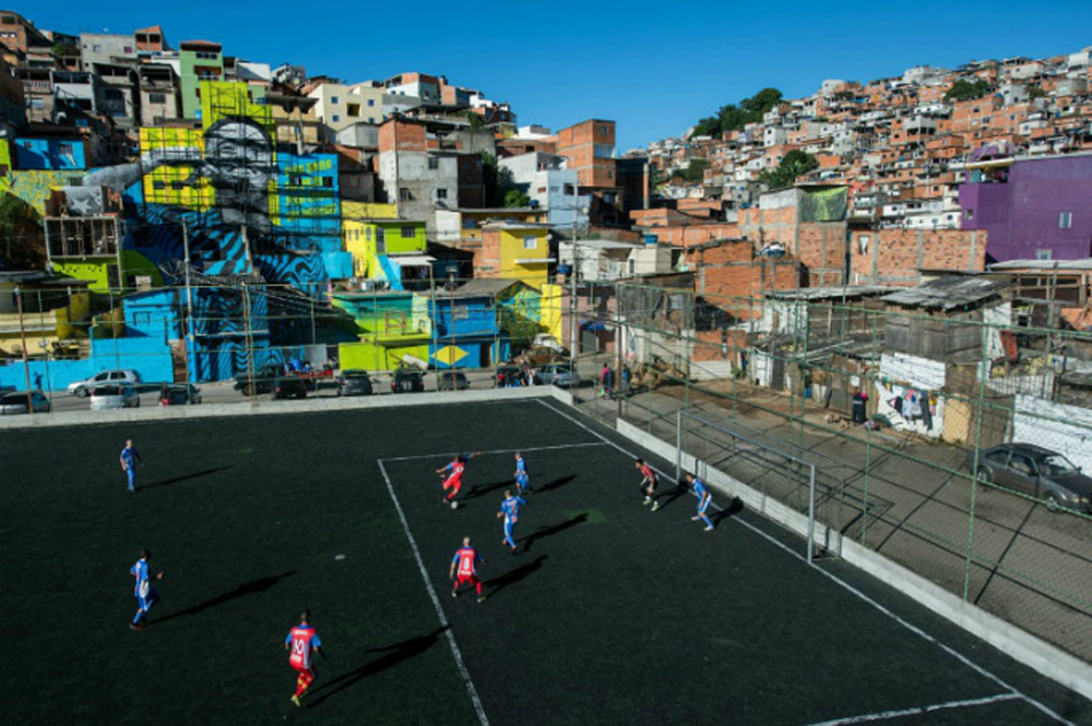 Football pitches, worldwide, football player, weird stadium, wonderful landscape