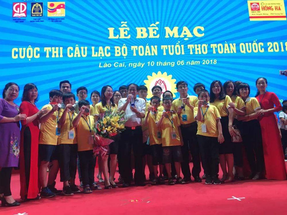 Toán tuổi thơ, TP Bắc Giang