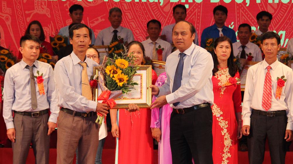 Chủ tịch Hồ Chí Minh, lời kêu gọi thi đua ái quốc, Nghị quyết Đại hội Đảng bộ tỉnh lần thứ XVIII, tỉnh Bắc Giang