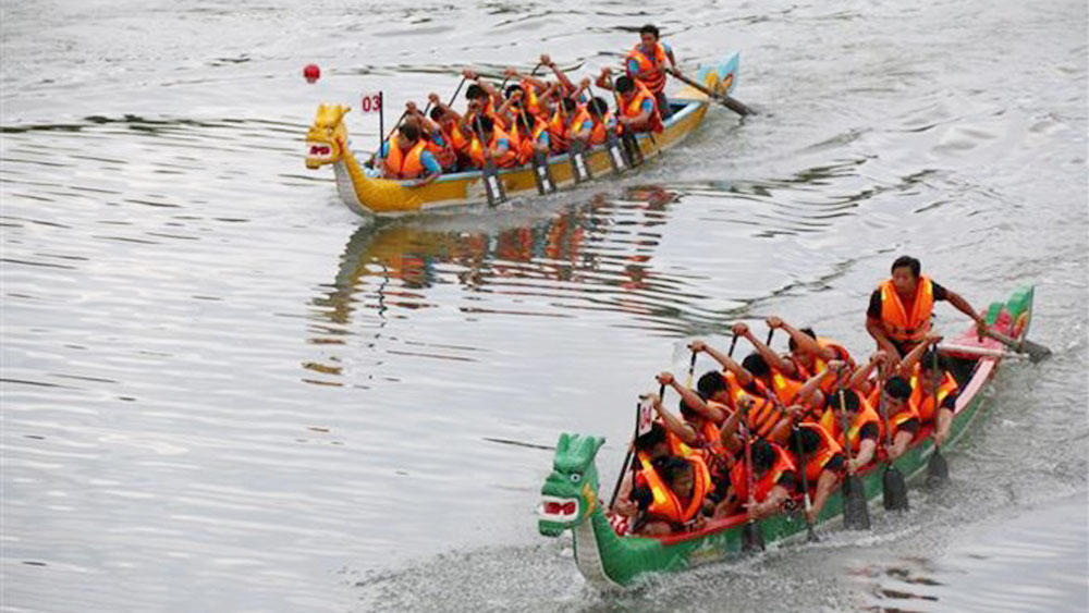 National traditional contest, rowing contest, kicks off, Binh Thuan province,  two-day competition, national tournament system, regional and international competitions