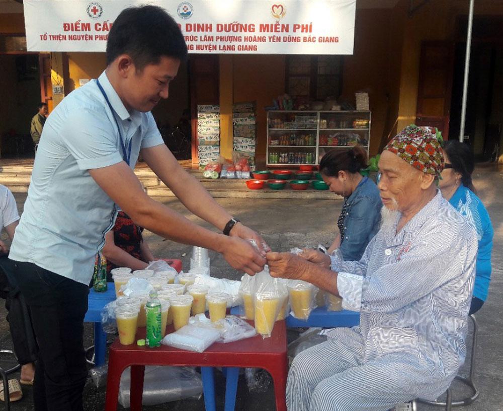 nhân đạo, Hội Chữ thập đỏ, xã An Hà, Lạng Giang, hoàn cảnh khó khăn